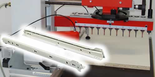 Boring and insertion machines - GANNOMAT Red Baron & Basica - Option