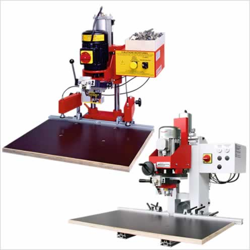 Boring and insertion machines - GANNOMAT Red Baron & Basica