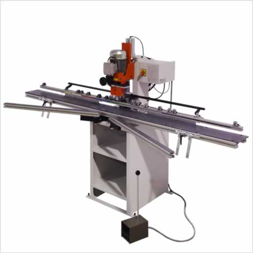 Drilling machines for bottom hinges and window handles - GANNOMAT