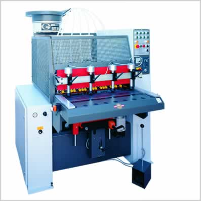 Drilling-, Gluing- and Dowelinsertingmachines for panel processing and solid wood processing - GANNOMAT