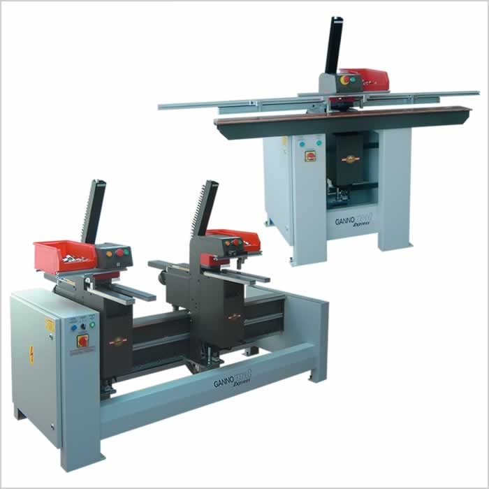 Hardware drill and insertion machine with magazine feeding for hinges and mounting plates - GANNOMAT Express Hinge